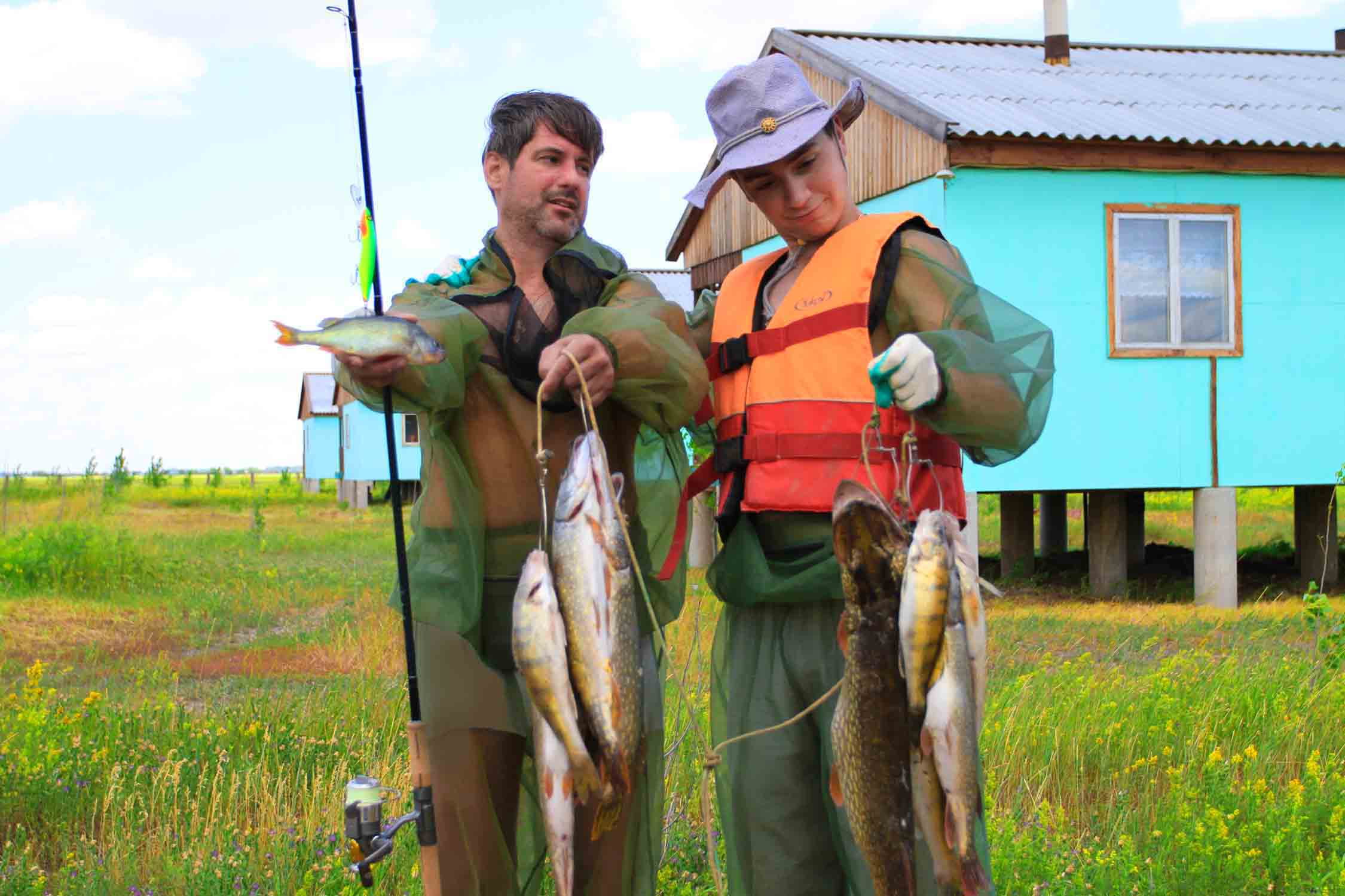 Турбаза Авалон  Рыбалка на Ахтубе